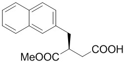 (S)-4-Methoxy-3-(2-naphthylmethyl)-4-oxobutanoic Acid