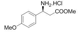 (S)-Methyl 3-Amino-3-(4-methoxyphenyl)-propanoate Hydrochloride Salt