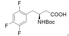 (S)-N-Boc-3-Amino-4-(2,4,5-trifluorophenyl)butanoic acid